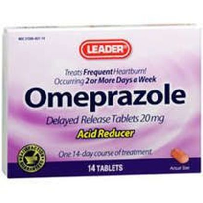 Omeprazole 20Mg Acid Reducing Tablets