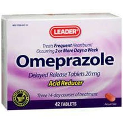 Omeprazole 20Mg Acid Reducing Tablets 42 Pills