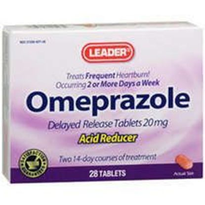 Omeprazole 20Mg Acid Reducing Tablets 28 Pills