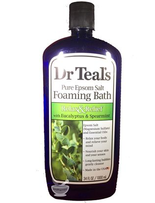 Dr Teal's Pure Epsom Salt Foaming Bath (34 fl. oz)
