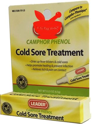 Camphor Phenol Cold Sore Treatment 0.23 Oz