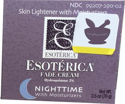 Esoterica Fade Cream Moisturizers Sunscreen Nighttime