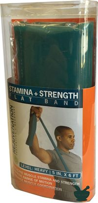 Stamina Strength Flat Band