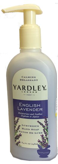 Yardley London English Lavendar Moisturizes Nourishes Hand Soap 8.4 Fl. Oz