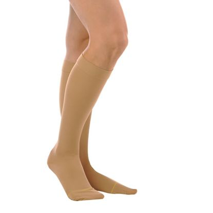 Sheer Knee High Closed Toe 15-20 mmHg